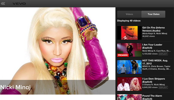 Meet The New VEVO iPad App!