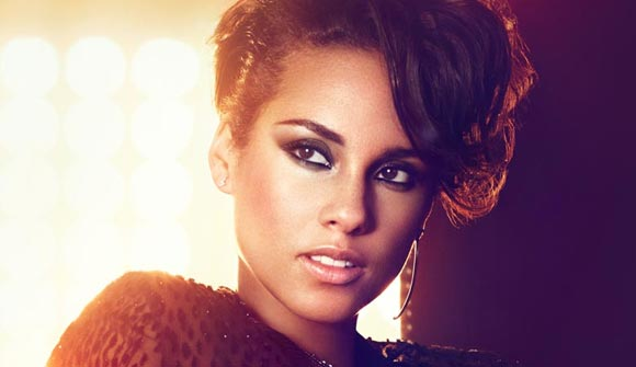 Alicia Keys Hits Live On Letterman on December 18