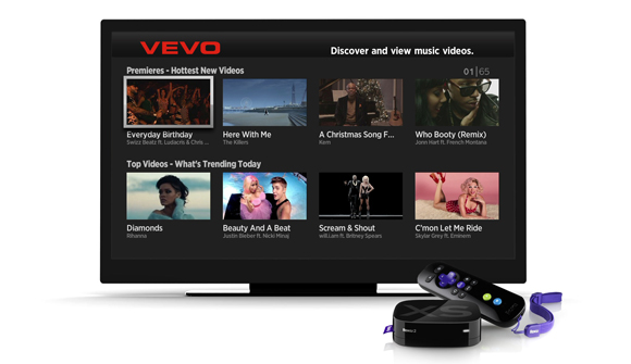 VEVO Channel Now Available On Roku