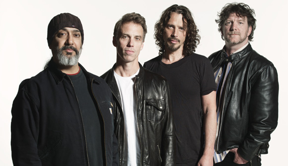 Soundgarden Plays Live On Letterman on Monday Night