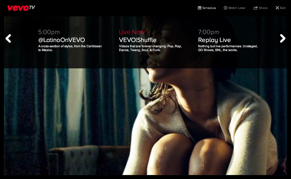 Announcing VEVO TV...